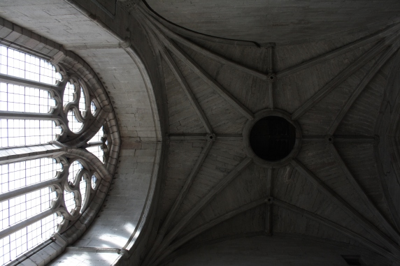 overgate church arched window